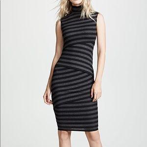 Bailey 44 Pavlova Striped Bondage Dress